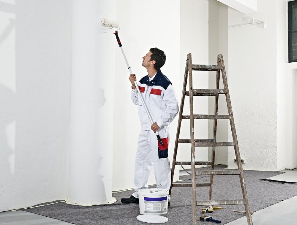 berufskleidung f r maler und lackierer frische optik mit der malerkleidung der staufer. Black Bedroom Furniture Sets. Home Design Ideas